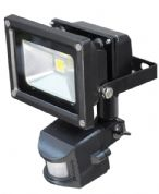 10W LED Flood light with PIR sensor